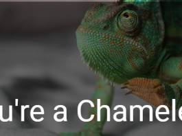 You're a Chameleon